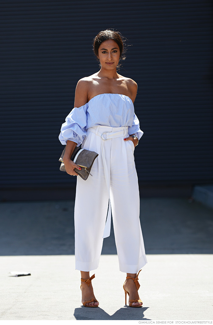 FASHION: OFF THE SHOULDER